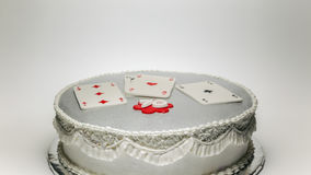 Happy 70 Birthday Cake stock images