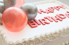 Happy Birthday Cake stock photography