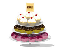 Happy Birthday Cake Royalty Free Stock Photos