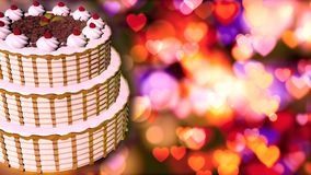 Happy Birthday cake. Abstract Background stock images
