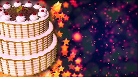 Happy birthday cake loopable abstract background stock video happy birthday cake loopable abstract background stock video negle Choice Image