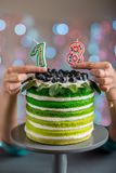 Happy birthday cake Royalty Free Stock Photo