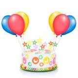 Happy birthday cake Stock Photos