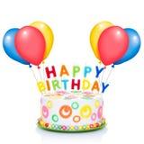 Happy birthday cake Stock Image