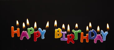 Free Happy Birthday Candles Royalty Free Stock Images - 9640649
