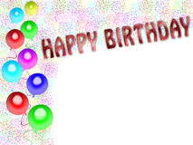 Happy Birthday Card (02) Stock Images