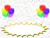 Happy birthday card (09) Stock Photography