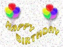 Happy birthday card (10) stock photos