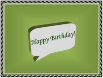 Happy birthday card Royalty Free Stock Photography