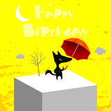 Happy birthday card Royalty Free Stock Image