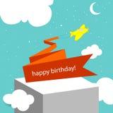 Happy birthday card Royalty Free Stock Photo