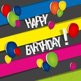 Happy Birthday Card Royalty Free Stock Images