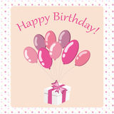 Happy Birthday card2 Royalty Free Stock Photo