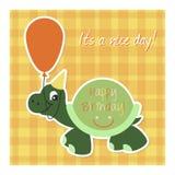 Happy birthday card. Stock Photo