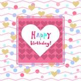 Happy birthday card1 Royalty Free Stock Photo