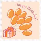 Happy Birthday card4 Royalty Free Stock Photography