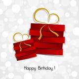 Happy Birthday Card Stock Photography