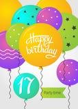 Happy Birthday card Royalty Free Stock Image