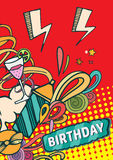 Happy birthday cards Royalty Free Stock Photo