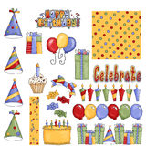 Happy Birthday Celebration Stock Images