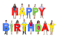 Happy Birthday Celebration Happy Cheerful Concept Royalty Free Stock Photos