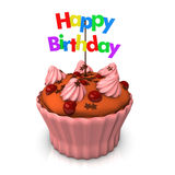 Happy Birthday Child Cake Royalty Free Stock Photography