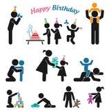 Happy birthday. Stock Photo