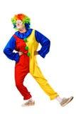 Happy birthday clown with Stock Photos