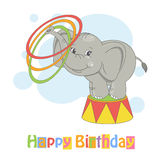 Happy Birthday. Royalty Free Stock Images
