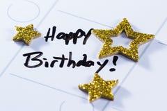 Happy birthday concept Stock Photos