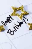 Happy birthday concept Stock Images