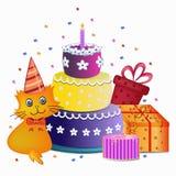 Happy birthday concept Stock Photo