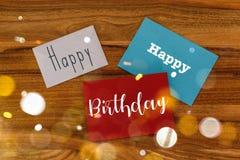 Happy Birthday Concept stock photography