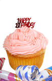 Happy Birthday cupcake Royalty Free Stock Images