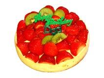 Happy Birthday Dad Cake. Happy Birthday Dad Cheese Cake stock photos