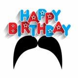 Happy Birthday Daddy Stock Photo
