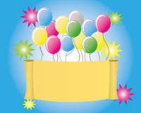 Happy birthday. Decoration for your children Royalty Free Stock Images