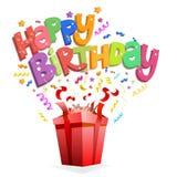 Happy birthday design Royalty Free Stock Photos