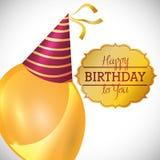 Happy Birthday design Stock Photos
