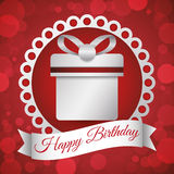Happy Birthday design Royalty Free Stock Photography
