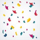 Happy birthday design. confetti icon. celebration concept. Happy birthday concept with icon design, vector illustration 10 eps graphic Royalty Free Stock Photos
