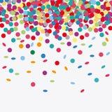 Happy birthday design. confetti icon. celebration concept. Happy birthday concept with icon design, vector illustration 10 eps graphic Royalty Free Stock Image