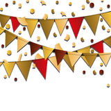 Happy birthday design. confetti icon. celebration concept. Happy birthday concept with icon design, vector illustration 10 eps graphic Royalty Free Stock Images