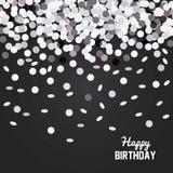 Happy birthday design. confetti icon. celebration concept. Happy birthday concept with icon design, vector illustration 10 eps graphic Stock Photos