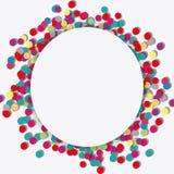 Happy birthday design. confetti icon. celebration concept. Happy birthday concept with icon design, vector illustration 10 eps graphic Royalty Free Stock Photography