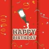 Happy birthday design Stock Photo