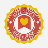 Happy birthday Royalty Free Stock Photos