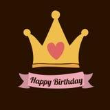 Happy birthday design Stock Photography