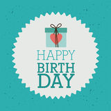 Happy birthday design Royalty Free Stock Images