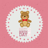Happy birthday design Stock Photo
